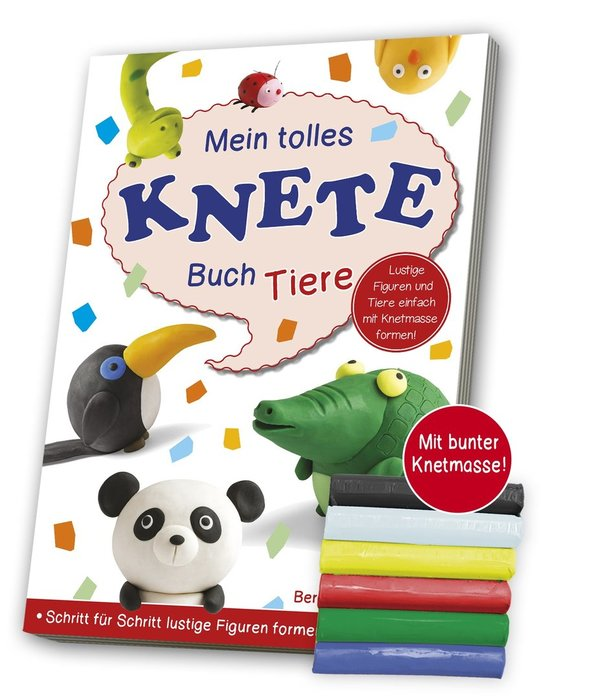 Mein tolles Knetebuch - Inklusive Knetmasse!